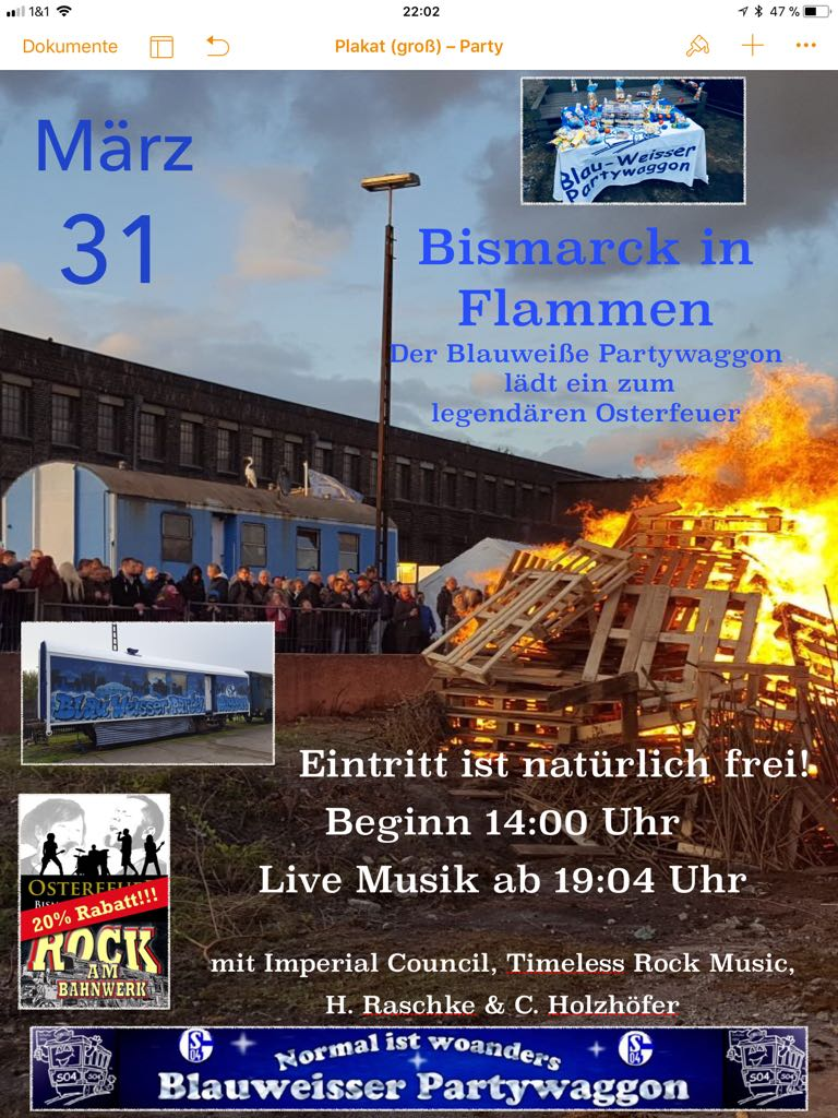 Osterfeuer 2018